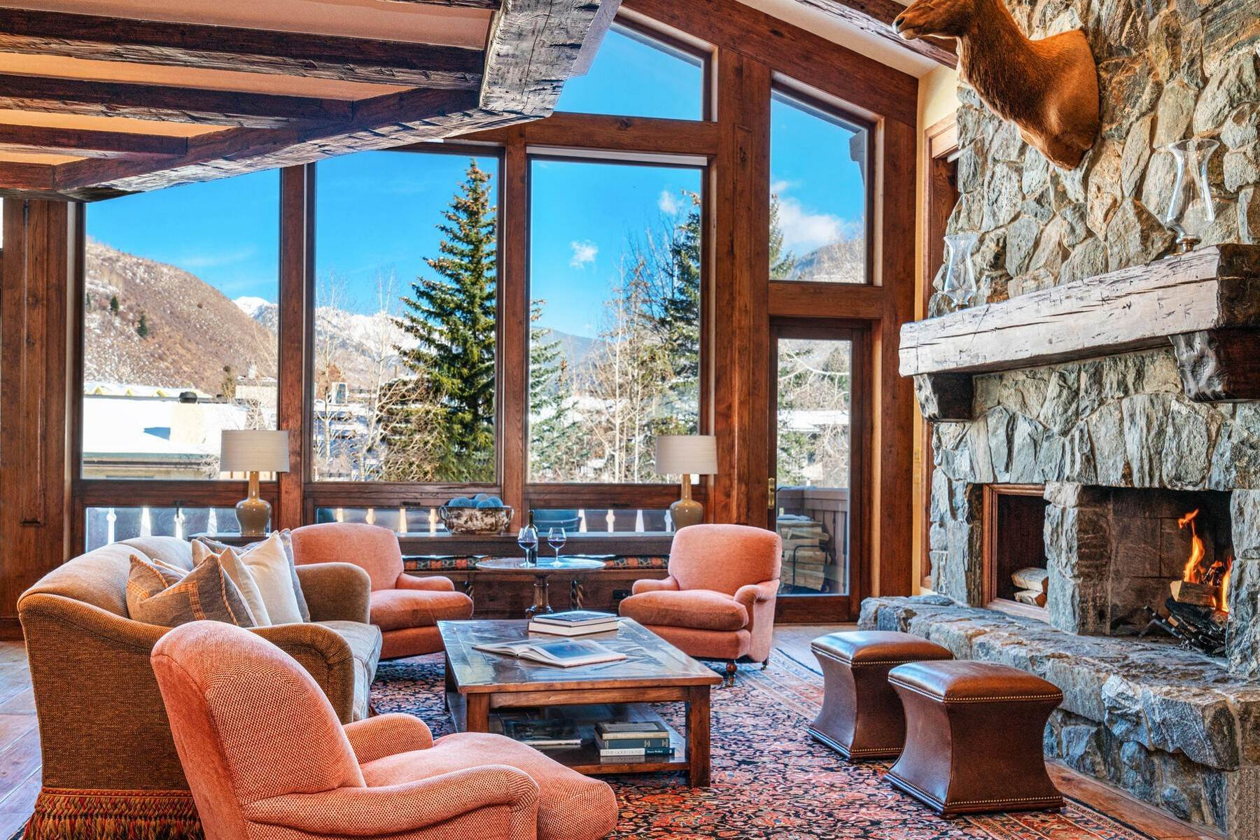 11. Condominiums for Active at Lodge at Vail Penthouse #411 174 Gore Creek Drive #411 Vail, Colorado 81657 United States
