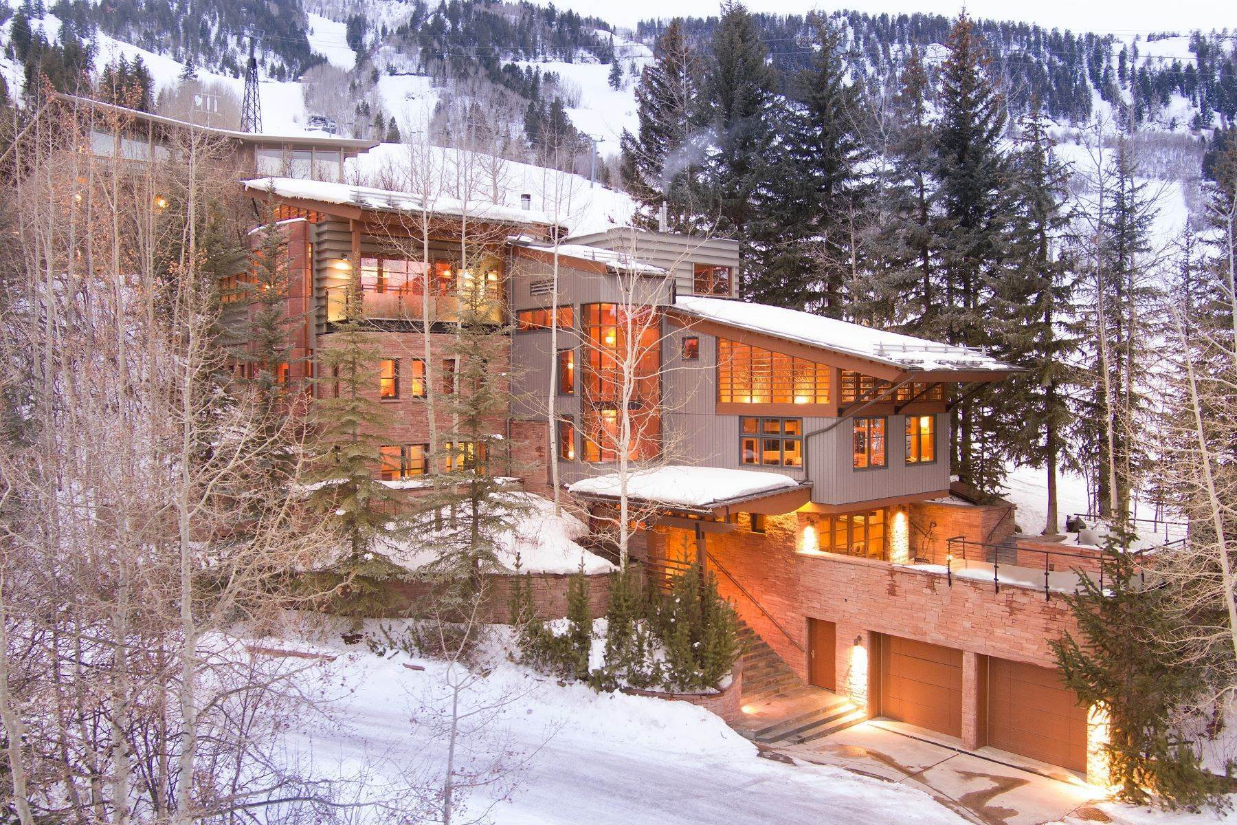 Single Family Homes for Active at The House on Little Nell 550 Aspen Alps Road Aspen, Colorado 81611 United States