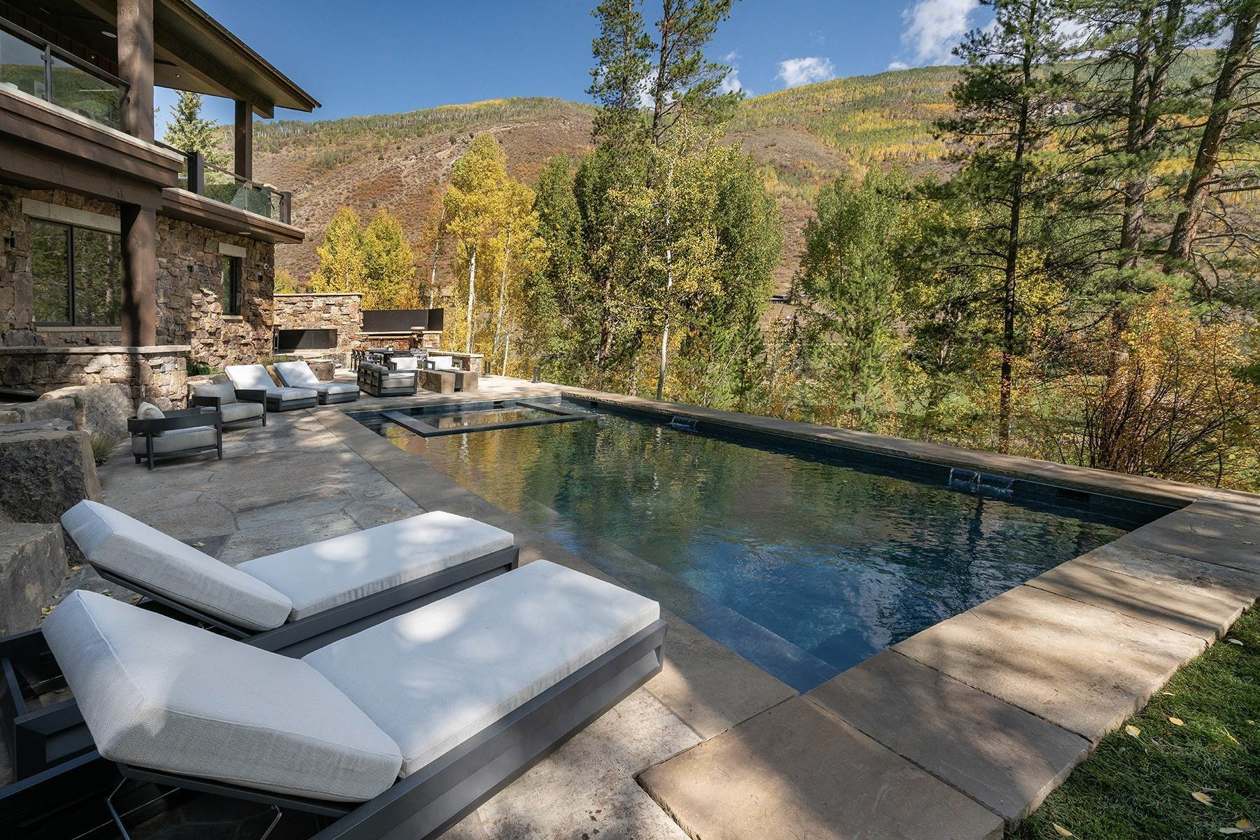 39. Single Family Homes for Active at Legendary Mountain Living 1183 Cabin Circle Vail, Colorado 81657 United States