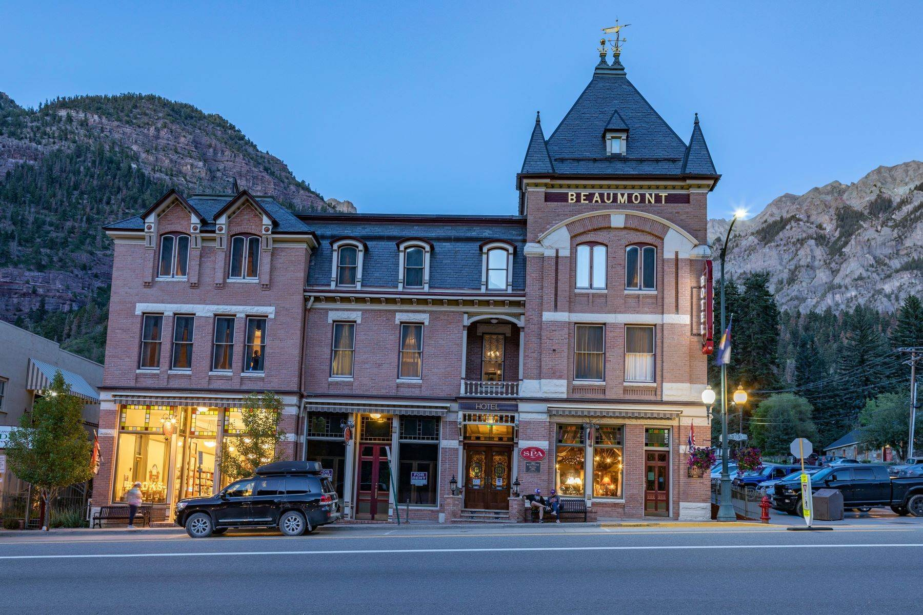 4. Single Family Homes for Active at The Beaumont Hotel 505 Main Street Ouray, Colorado 81427 United States