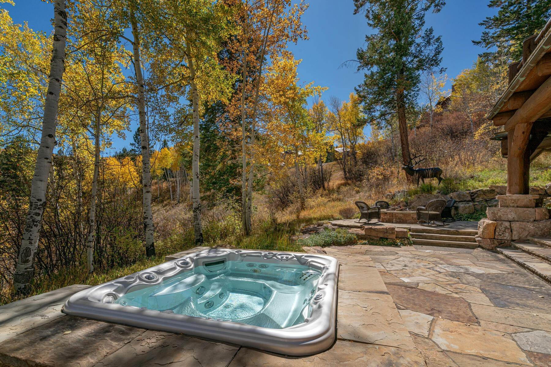 9. Single Family Homes for Active at Ski-in, ski-out residence with panoramic views 602 Bachelor Ridge Road Beaver Creek, Colorado 81620 United States