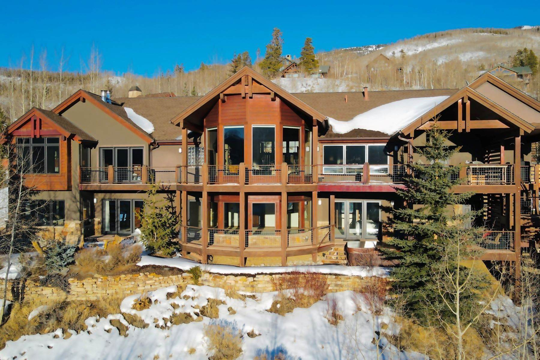Single Family Homes at Hamilton Creek Home 71 Indian Brush Trail Silverthorne, Colorado 80498 United States