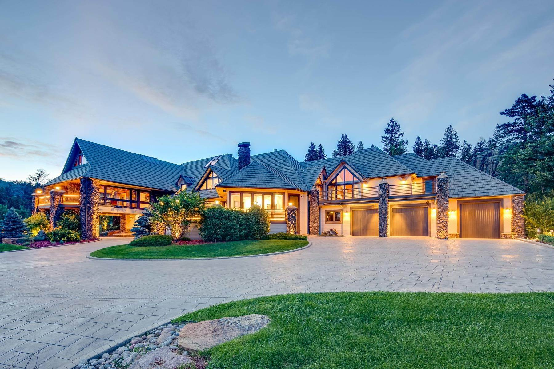 4. Single Family Homes for Active at This Luxurious Estate is More of a Lifestyle Choice, 6917 Timbers Drive Evergreen, Colorado 80439 United States
