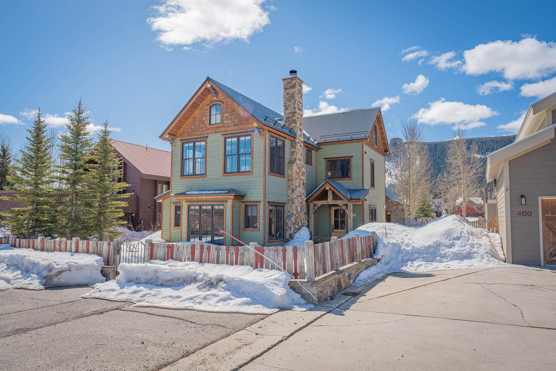 Property for Active at Extraordinary Home with the Best of Paradise Divide Valley Views 404 Butte Avenue Crested Butte, Colorado 81224 United States