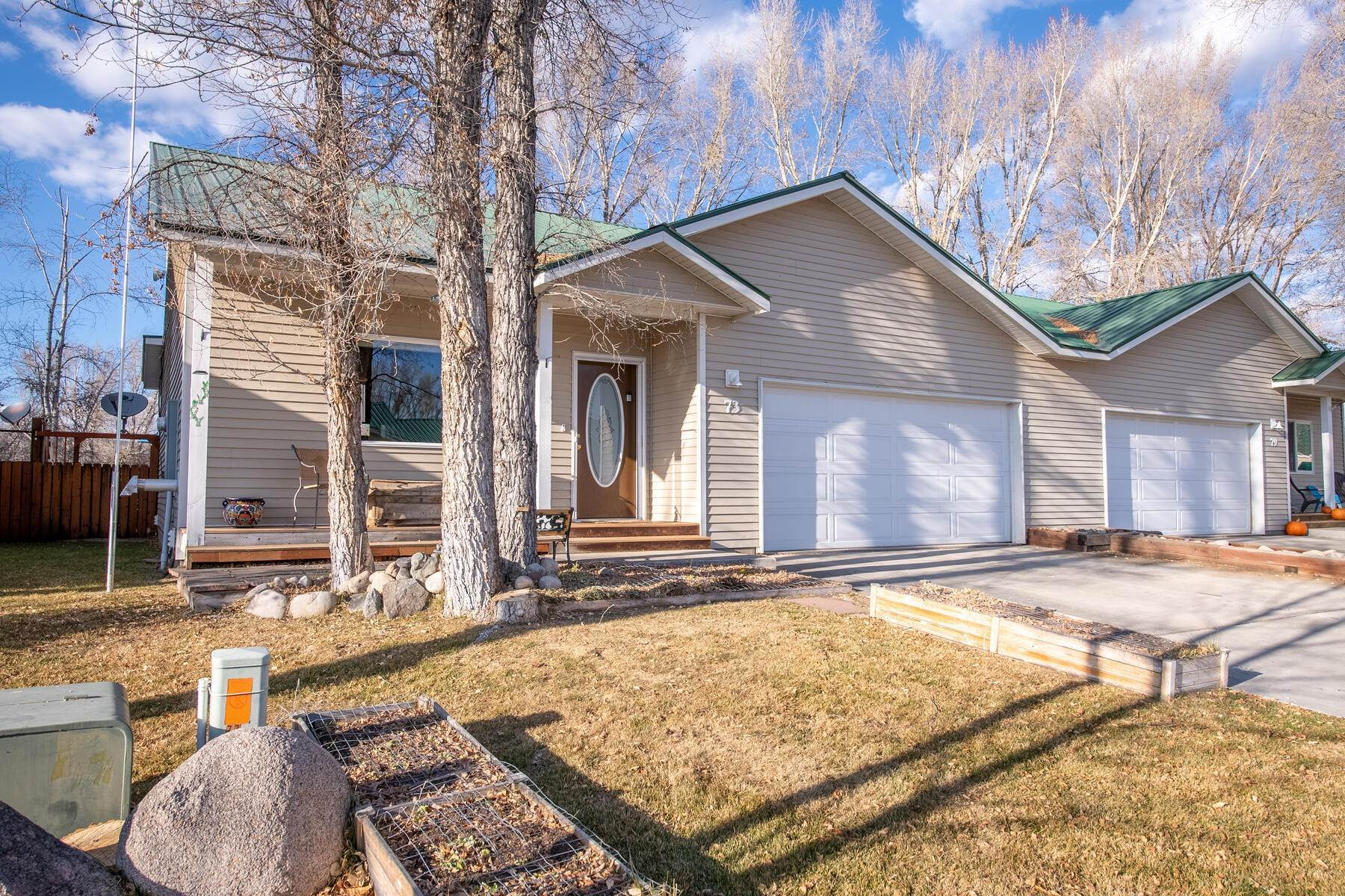 townhouses for Active at Spacious Townhouse with Covered Deck and Plenty of Storage 73 Bambi Lane Gunnison, Colorado 81230 United States