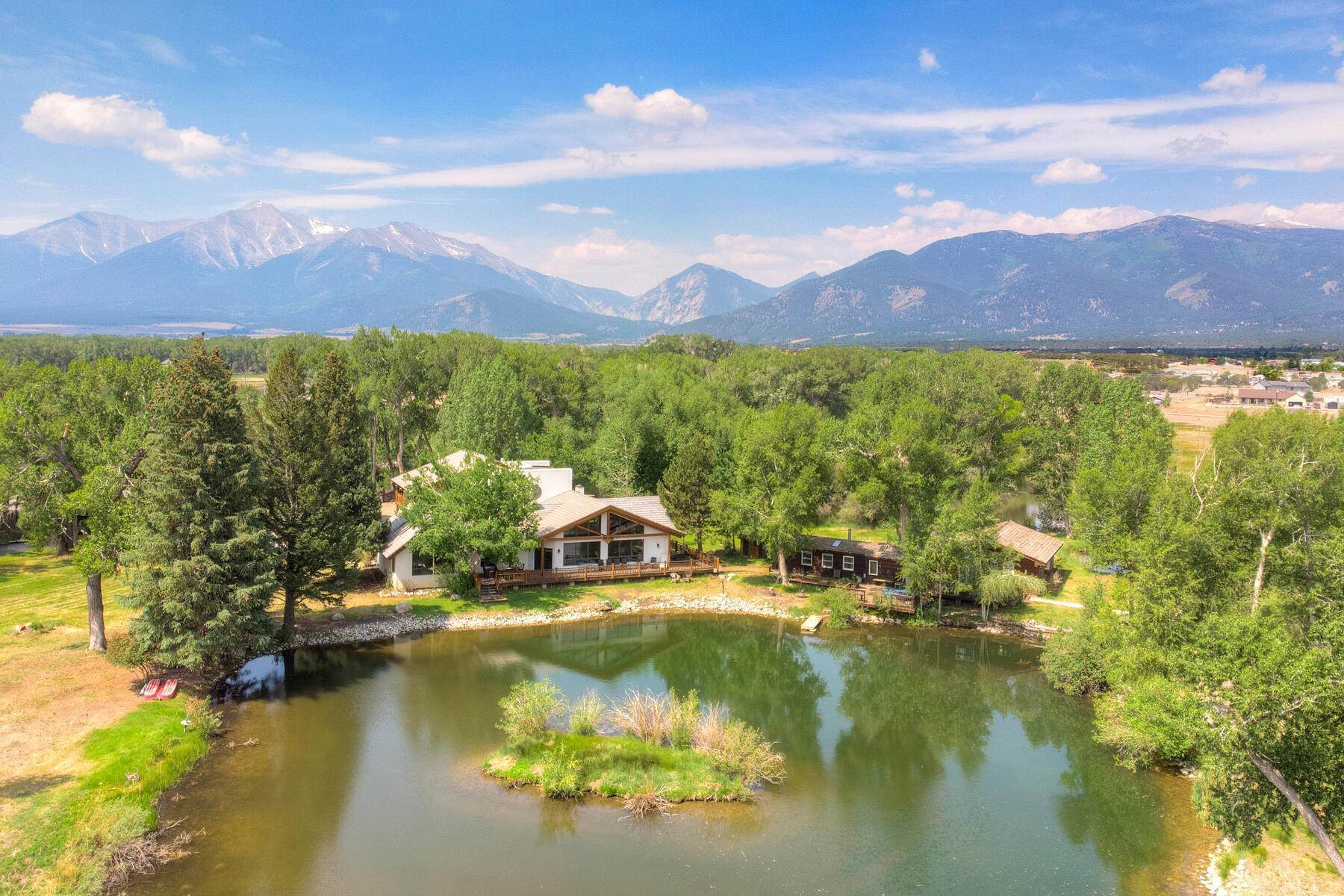 Single Family Homes for Active at Spring Water Ranch 15099 County Road 350 Buena Vista, Colorado 81211 United States