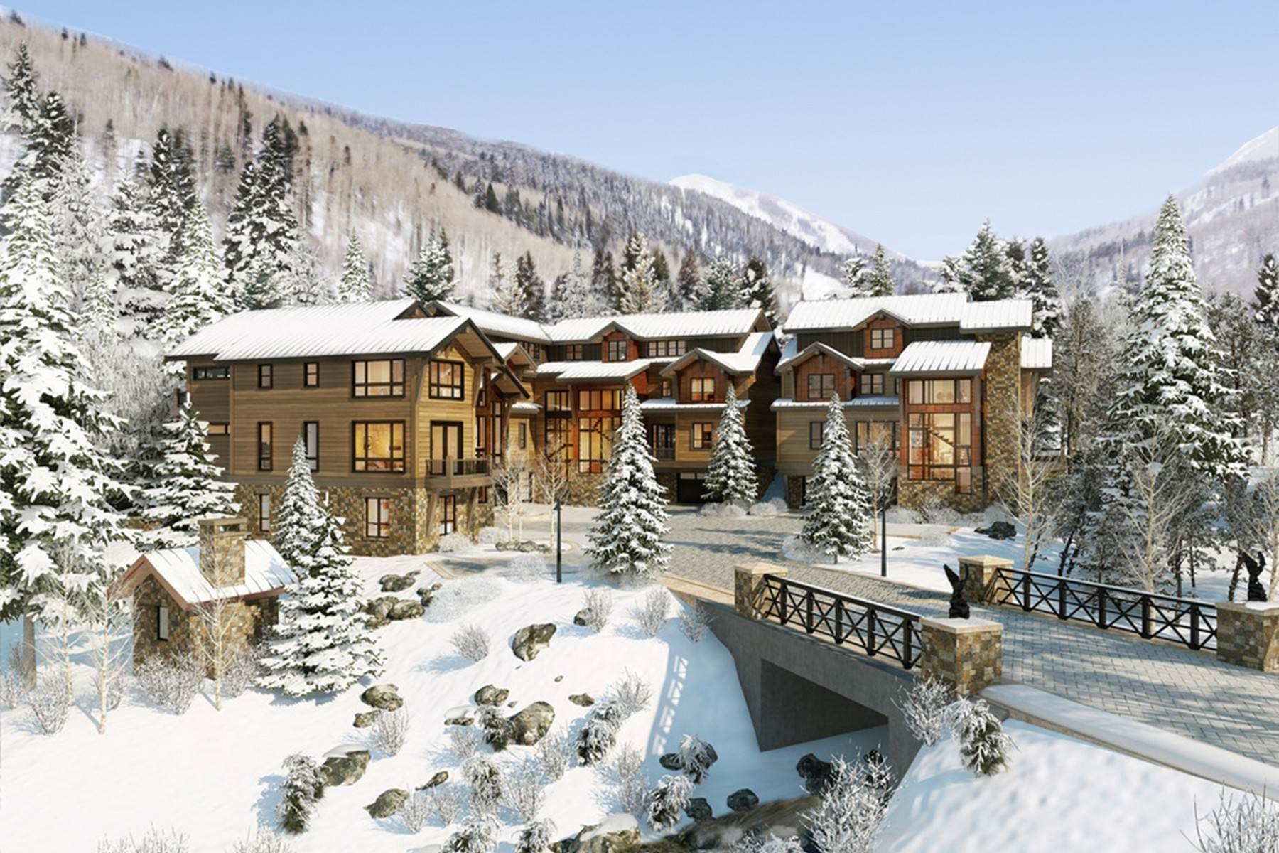 9. Single Family Homes for Active at Peregrine Villas 185 Elk Track Road Beaver Creek, Colorado 81620 United States