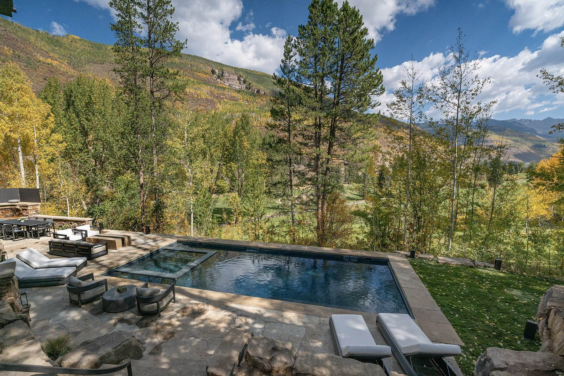 40. Single Family Homes for Active at Legendary Mountain Living 1183 Cabin Circle Vail, Colorado 81657 United States