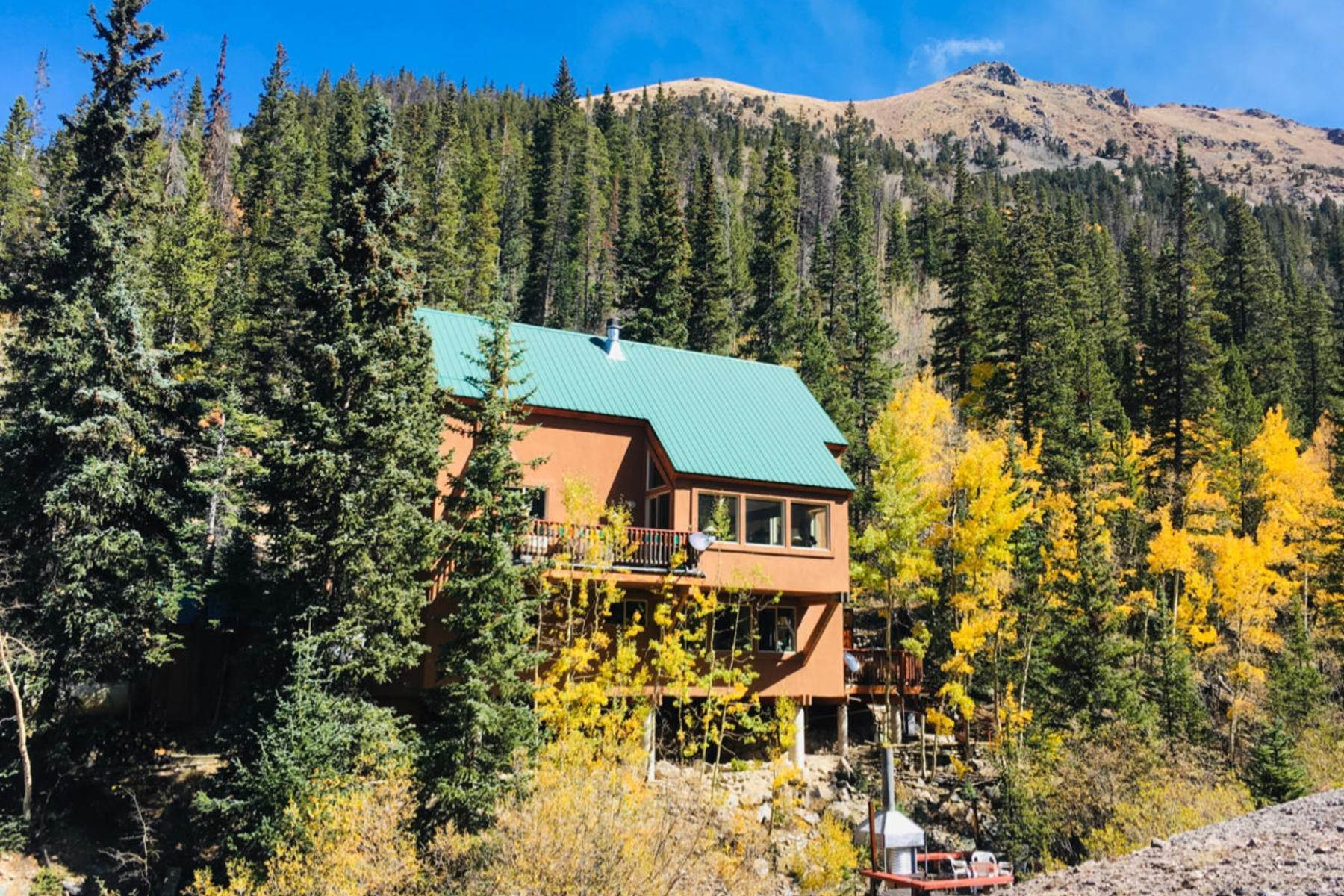 Single Family Homes for Active at Once in a Lifetime Opportunity to Own on Grey's Peak 1781 Stevens Gulch Road Silver Plume, Colorado 80476 United States