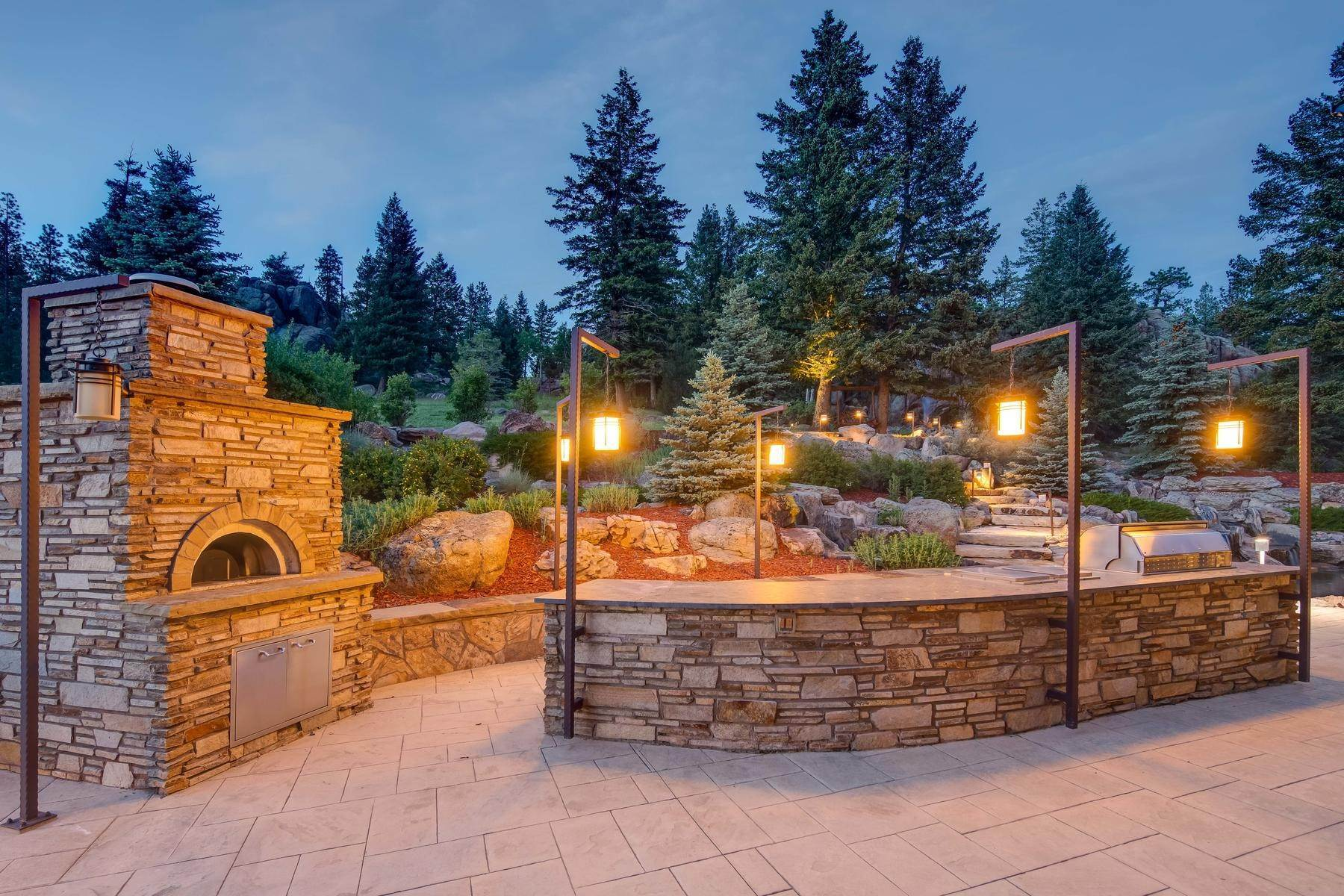 34. Single Family Homes for Active at This Luxurious Estate is More of a Lifestyle Choice, 6917 Timbers Drive Evergreen, Colorado 80439 United States