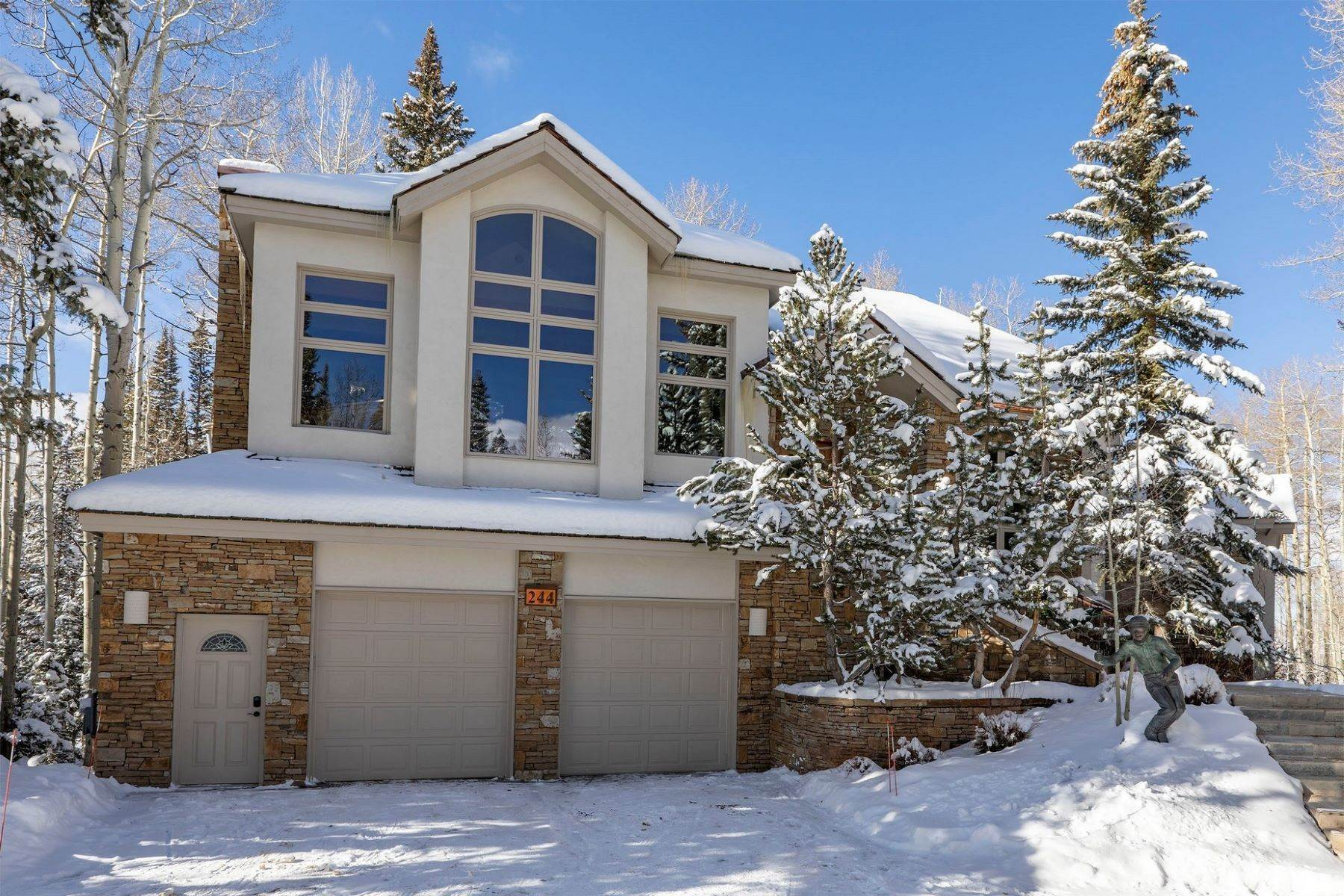 Single Family Homes for Active at 244 Benchmark Drive Mountain Village, Colorado 81435 United States