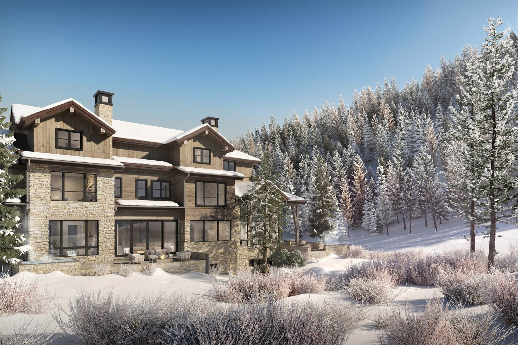 7. Single Family Homes for Active at Peregrine Villas 185 Elk Track Road Beaver Creek, Colorado 81620 United States