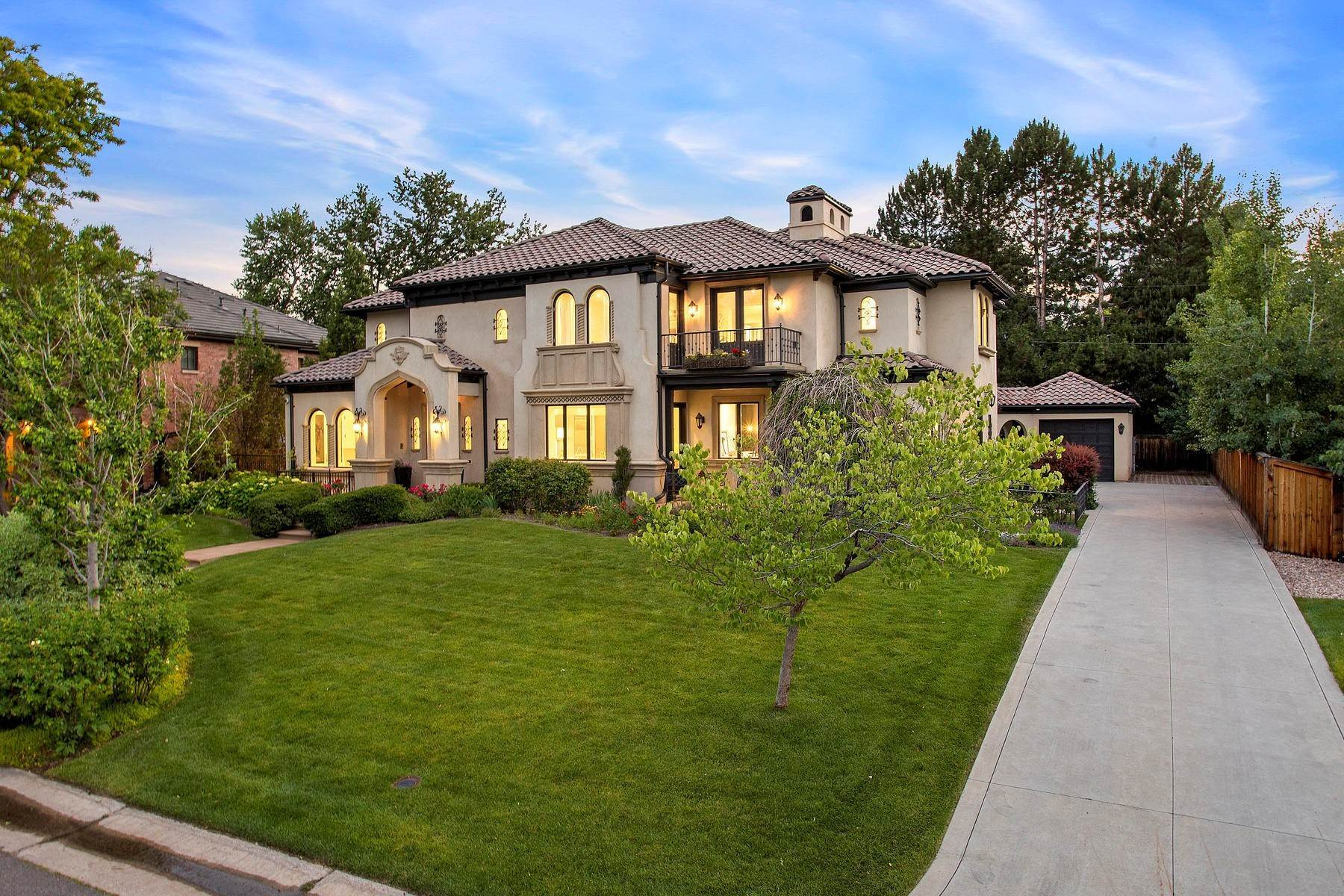 Single Family Homes for Active at On Crestmoor Park – Masterpiece of Character and Modern Living 21 S Kearney Street Denver, Colorado 80224 United States