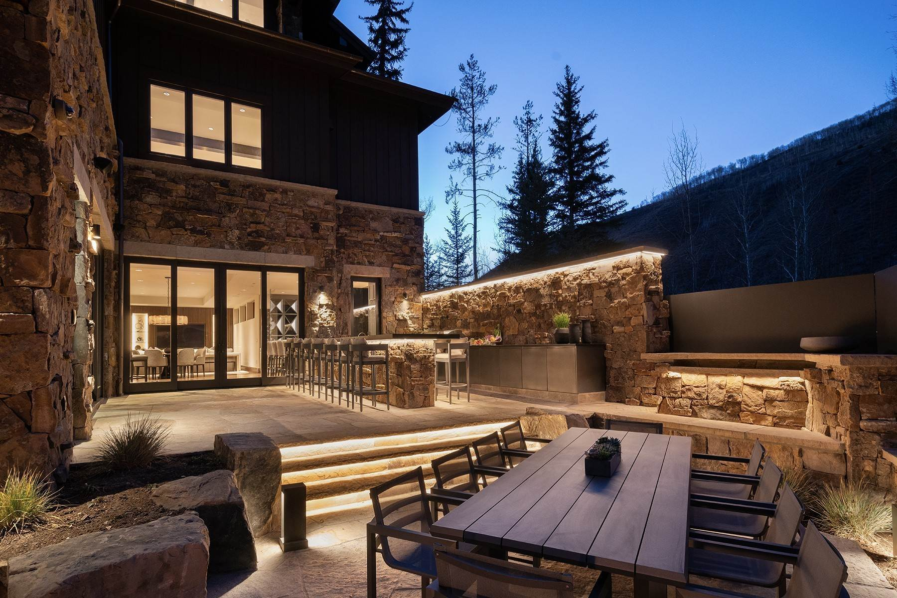 41. Single Family Homes for Active at Legendary Mountain Living 1183 Cabin Circle Vail, Colorado 81657 United States