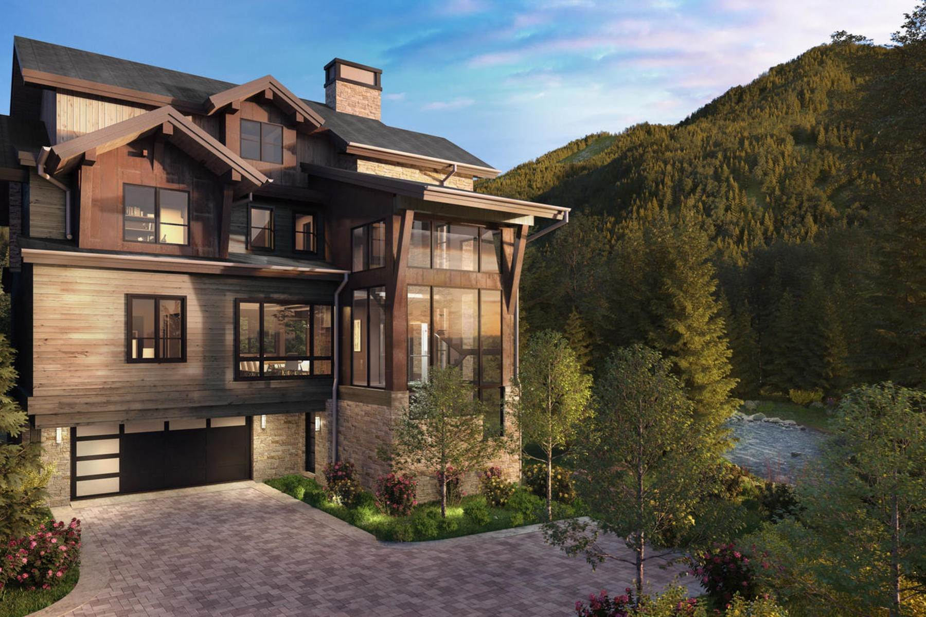 7. Duplex Homes for Active at Peregrine Villas 187 Elk Track Road Beaver Creek, Colorado 81620 United States