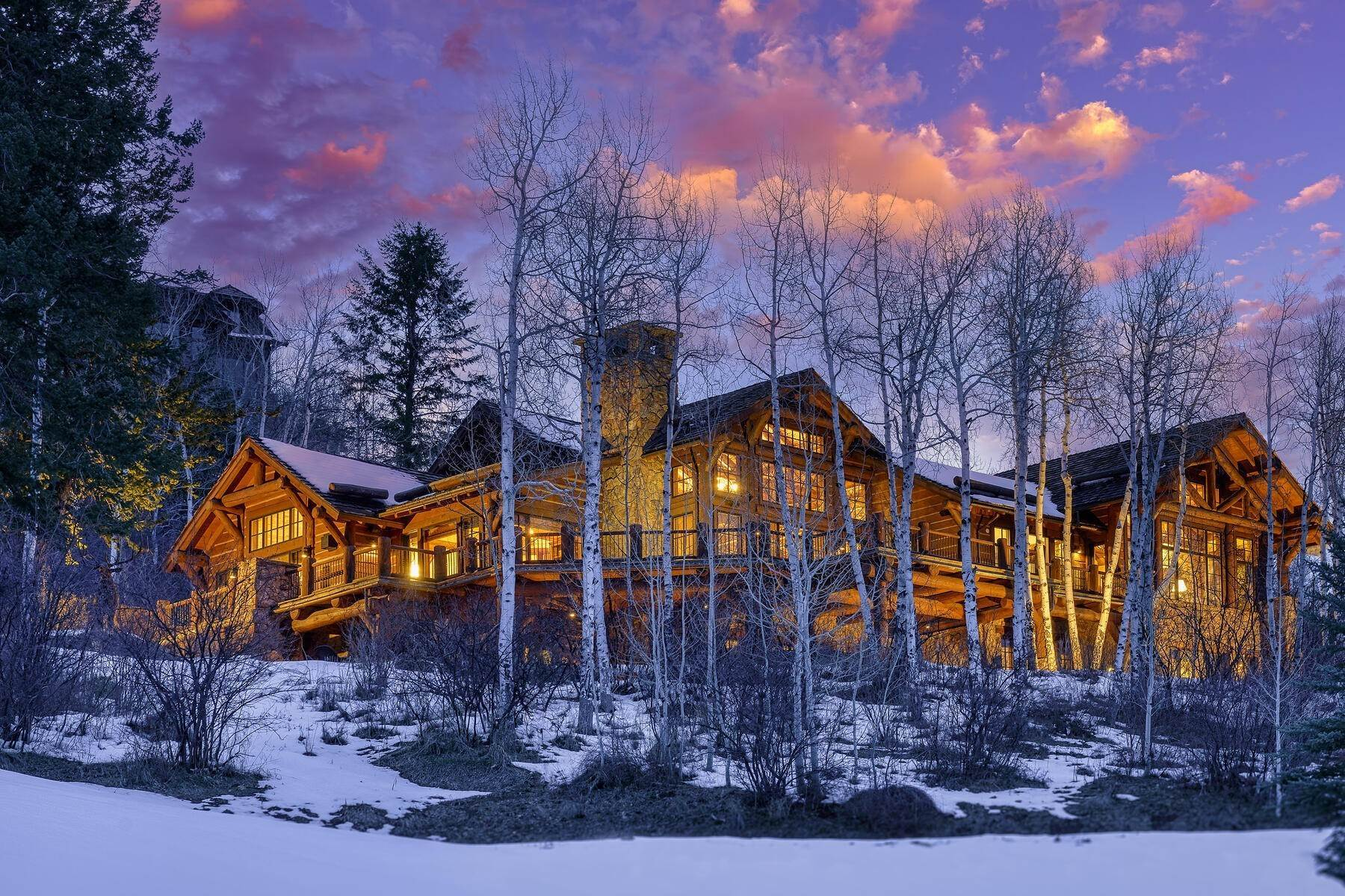 Single Family Homes for Active at Ski-in, ski-out residence with panoramic views 602 Bachelor Ridge Road Beaver Creek, Colorado 81620 United States