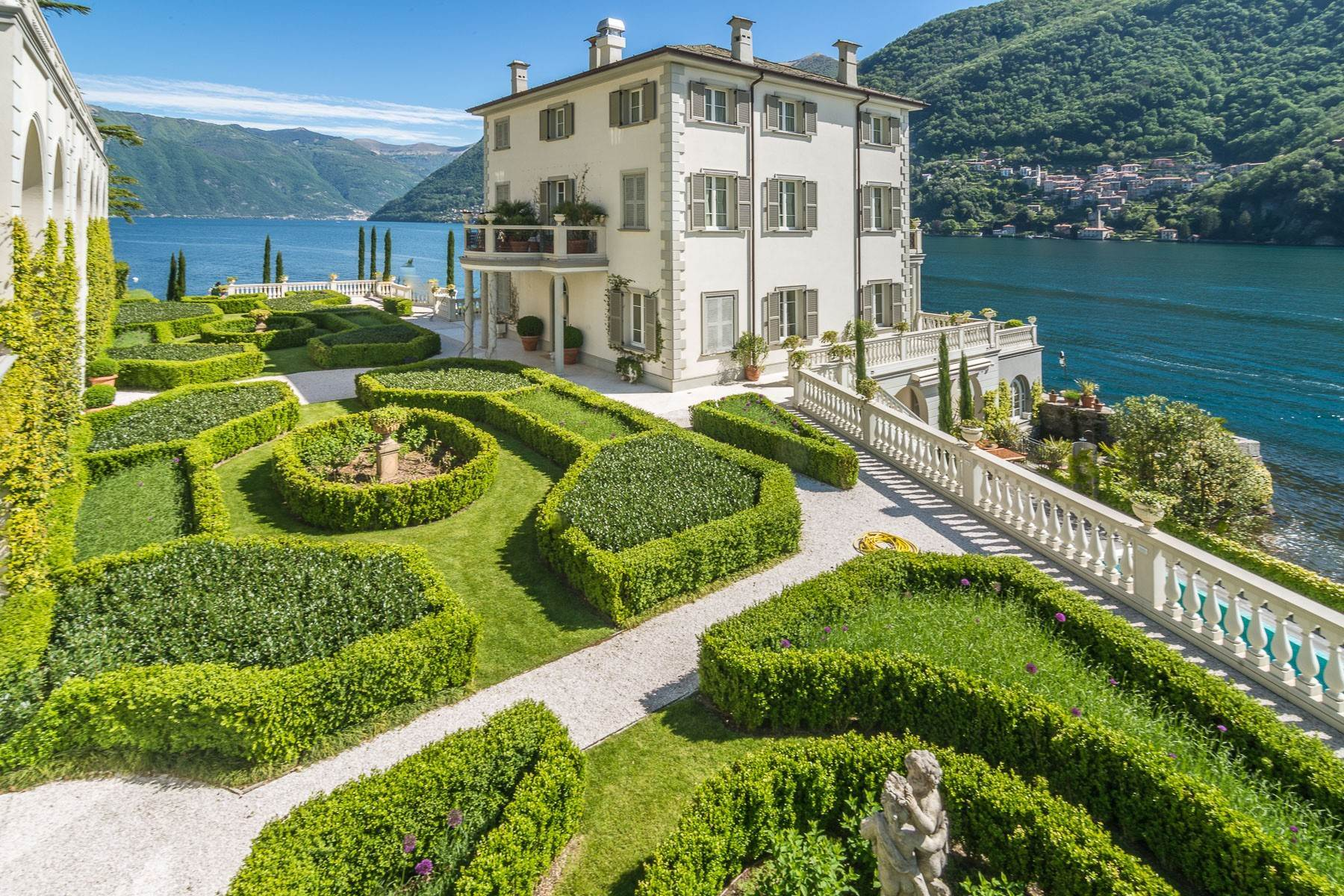 Other Residential Homes for Active at Gorgeous lakefront trophy estate Laglio, Como Italy