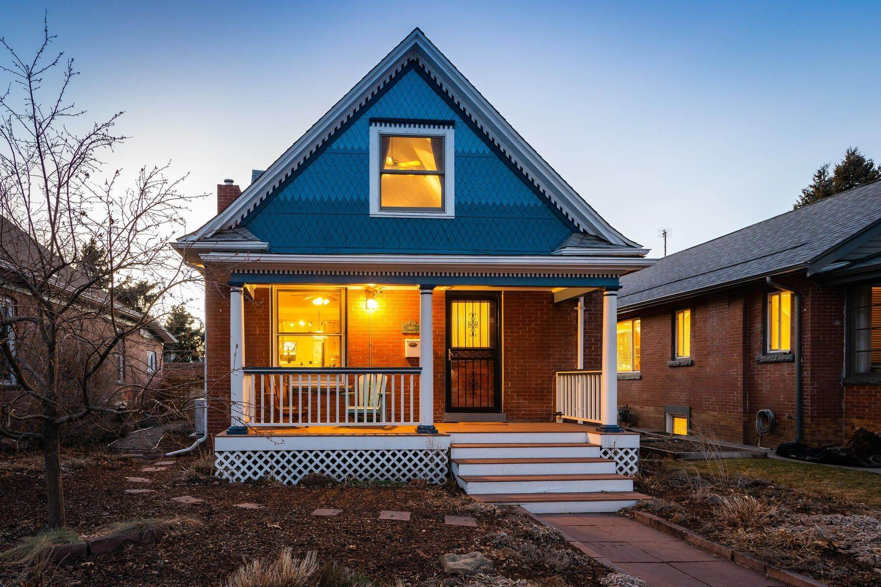 Property en Storybook Victorian is Beautifully Located within Alamo Placita 457 N Pearl Street Denver, Colorado 80203 Estados Unidos