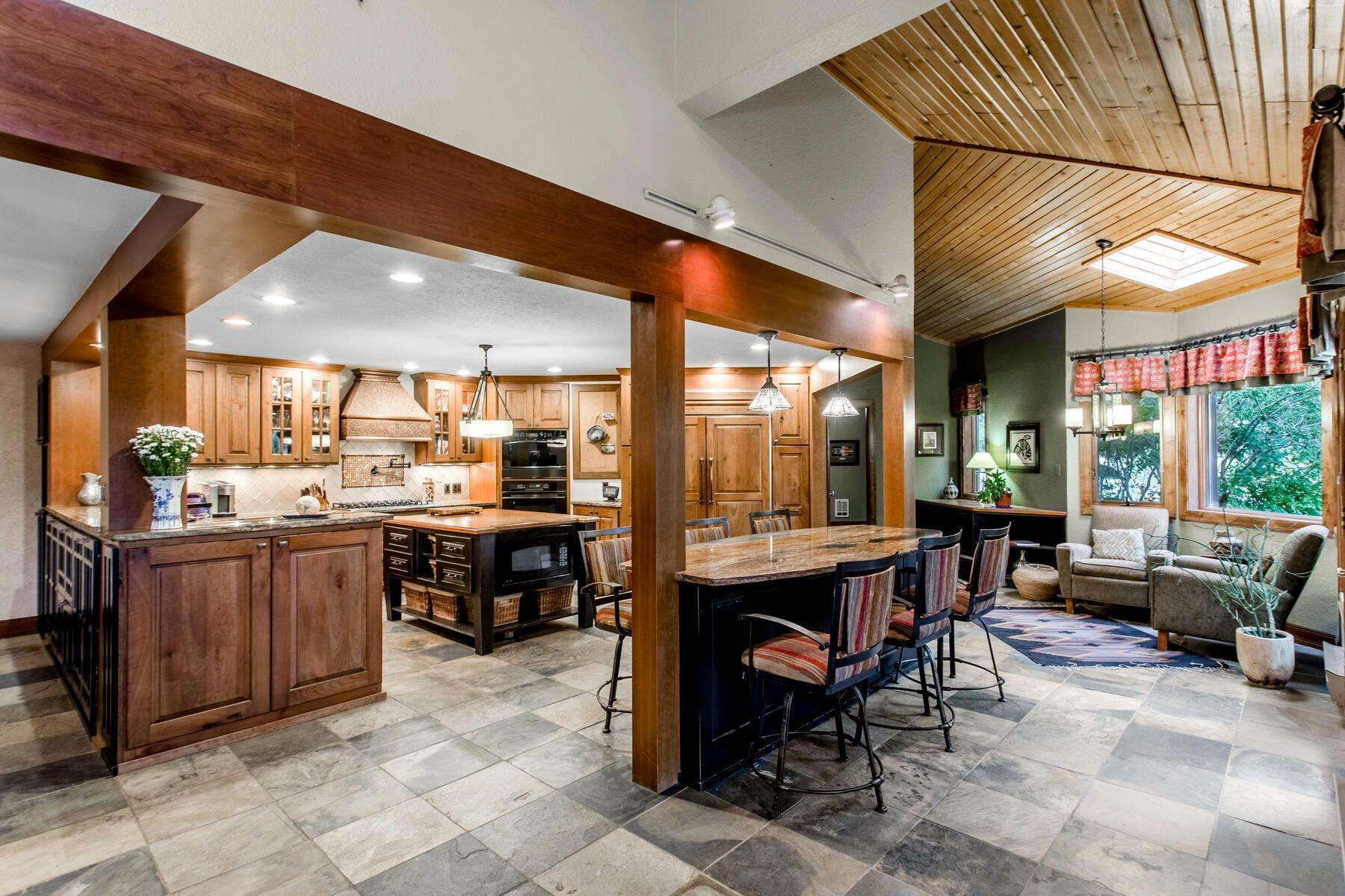 9. Single Family Homes for Active at Luxury Mountain Home with Endless Mountain Views & Ample Outdoor Living Spaces 34814 West Meadow Road Evergreen, Colorado 80439 United States