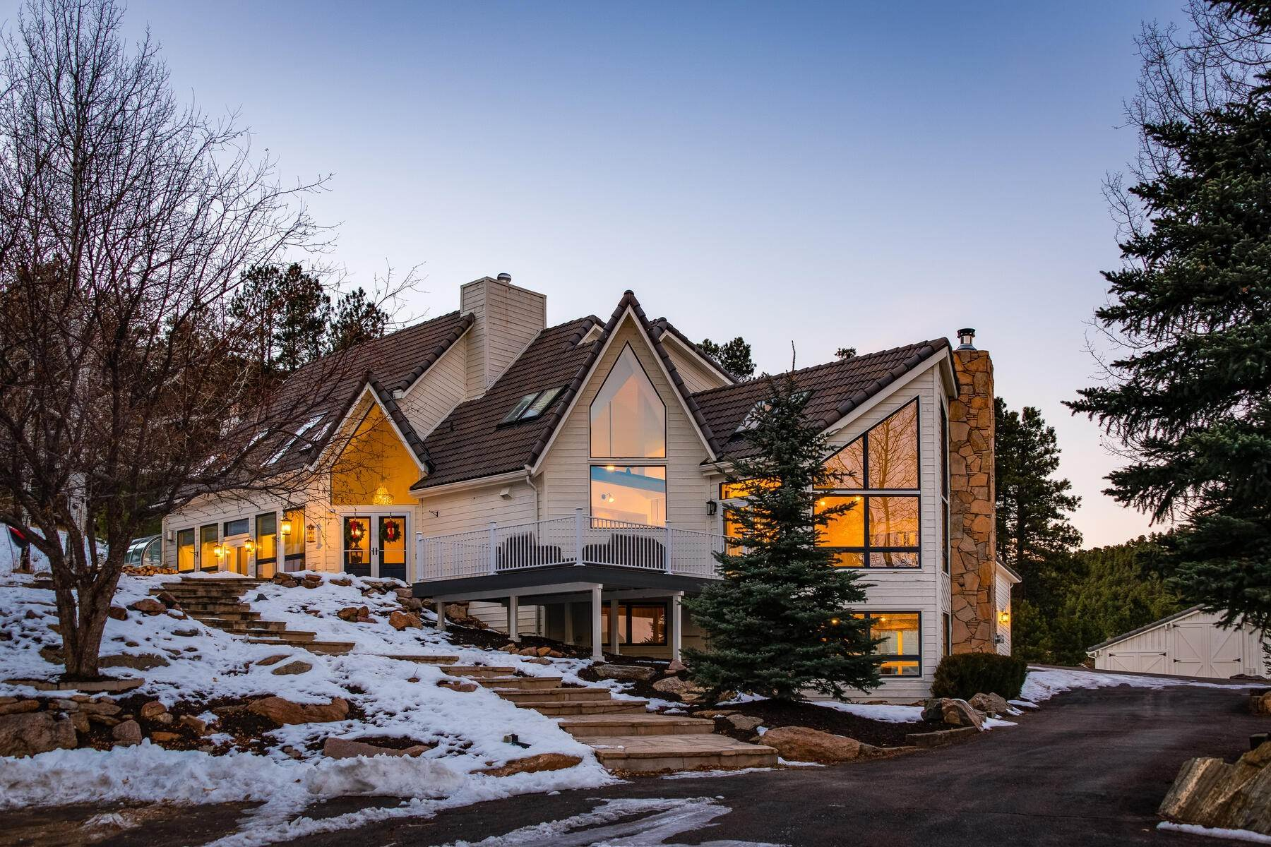 Single Family Homes for Active at Where Art and Design Live in Harmony 1791 Kerr Gulch Road Evergreen, Colorado 80439 United States