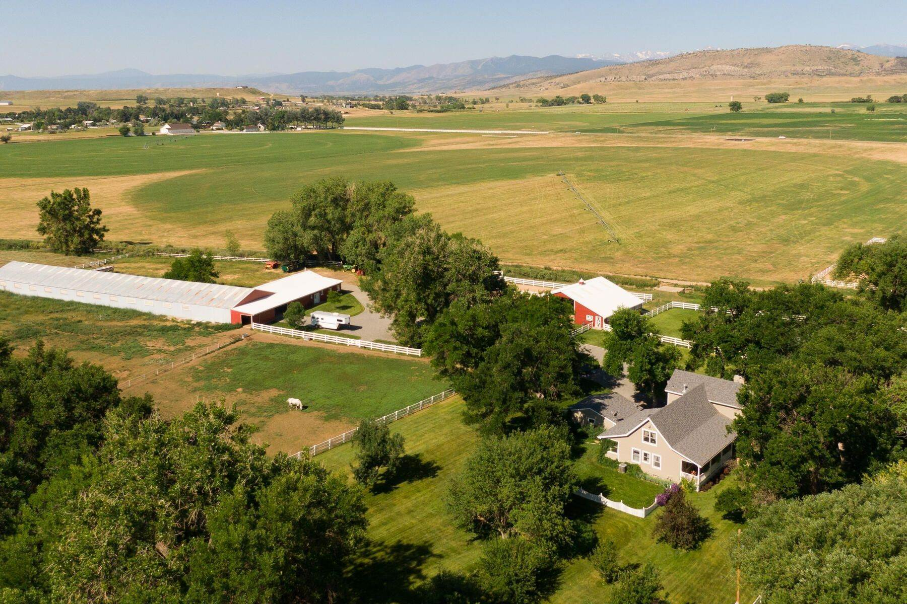 Farm and Ranch Properties for Active at Peaceful & Private Panoramic Mountain Views Nearly 65 Acres 8582 Yellowstone Road Longmont, Colorado 80503 United States