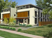 Modern Townhomes